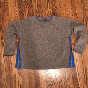 Topshop sweater with side swing detail. Size 6